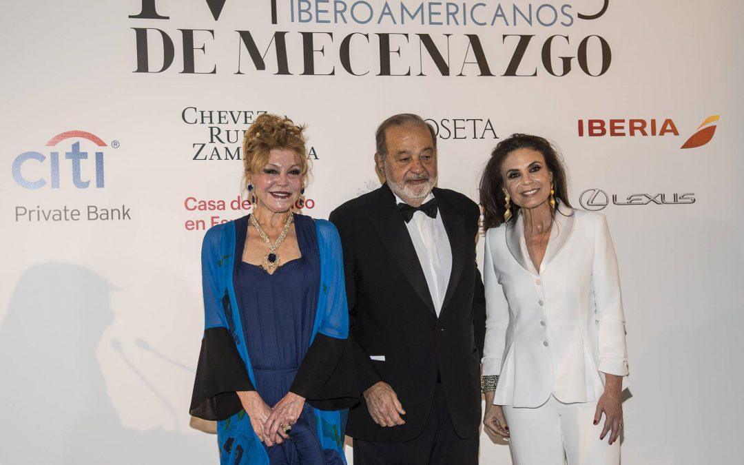 EL PAIS. Carmen Thyssen y Carlos Slim reciben el Premios Iberoamericanos de Mecenazgo