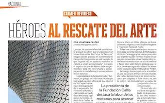 Revista Código. Héroes al rescate del arte