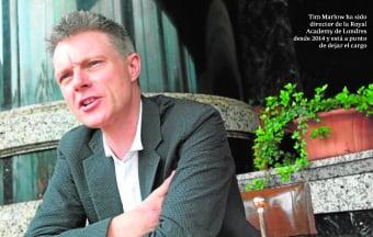ABC CULTURAL. Entrevista con Tim Marlow, director de la Royal Academy of Arts of London.
