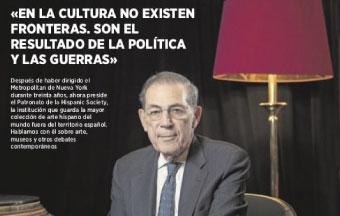 ABC CULTURAL. ENTREVISTA A PHILIPPE DE MONTEBELLO, PRESIDENTE DE LA HISPANIC SOCIETY OF AMERICA.