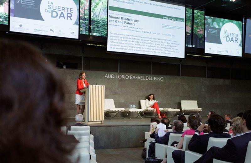 Carmen Vela. Secretaria de Estado para Ciencia e Innovación